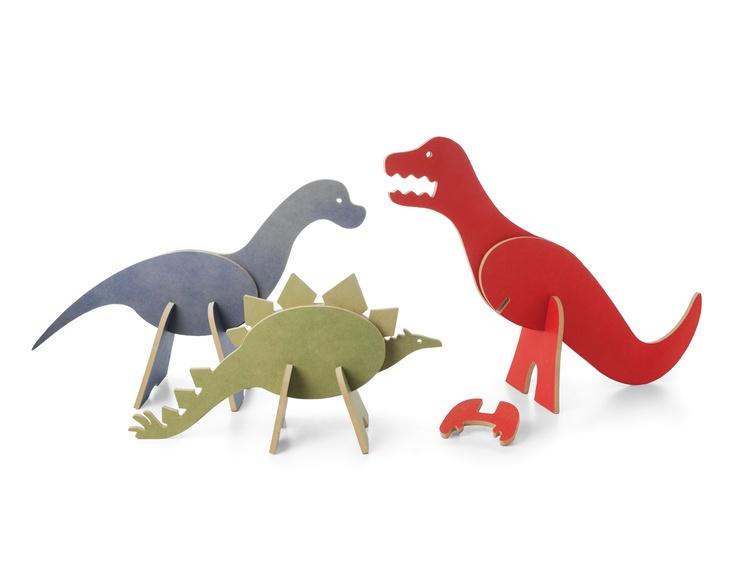 TOPOZOO EVOLUTIONARY DINOSAUR PUZZLE SET | Topozoo Dinosaur Toys | UncommonGoods