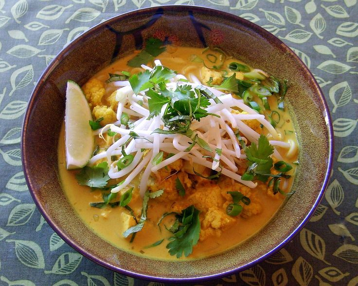 Malaysian Coconut Curry Soup