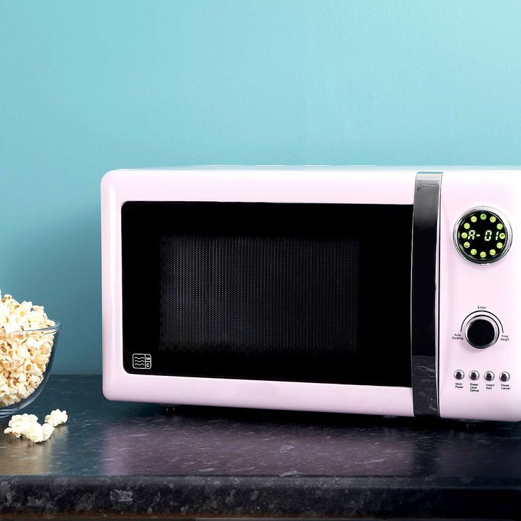candy rose 700w pink 20l microwave - Kuche In Pink