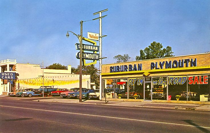 Royal Oak MI Suburban Plymouth Dealership 818 North Main ...