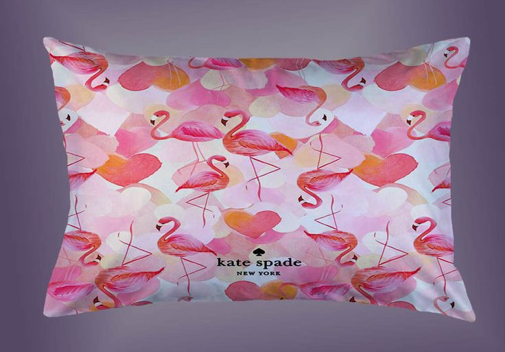 """Hot New Rare Kate Spade Flamingo Custom Pillow Case 16""""x24"""" Limited Edition #Unbranded #pillowcase #pillowcover #cushioncase #cushioncover #best #new #trending #rare #hot #cheap #bestselling #bestquality #home #decor #bed #bedding #polyester #fashion #style #elegant #awesome #luxury  #katespade #flamingo"""