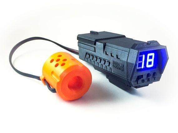 AmmoCounter V1 Custom Scope Nerf dart counter by AmmoCounter