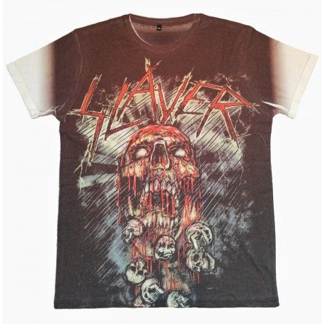 Tricou Allover Slayer: War Painted Blood