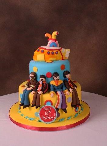 Edda S Cake Designs The Beatles Cake Http Facebook Com