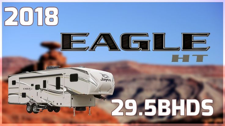 2018 Jayco Eagle HT 29.5BHDS Fifth Wheel RV For Sale All Seasons RV Supercenter Buy this 2018 Eagle HT 29.5BHDS now at http://ift.tt/2jl9skz or call All Seasons RV today at 231-760-8772!  Youll have the time of your life on your next family camping trip with this awesome 2018 Eagle HT 29.5BHDS fifth wheel from All Seasons RV!  This 34 -long fifth wheel is built on an I-class cambered structural steel I-beam frame. It has a MOR/ryde CRE/3000 rubberized suspension and an exterior LED lighting…