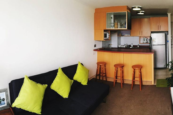 Échale un vistazo a este increíble alojamiento de Airbnb: A minutos de Valparaíso - Departamentos en alquiler en Valparaíso