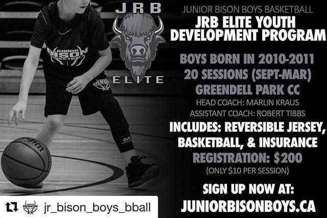 Jr Bison Boys Bball Basketball Club Announce First Annual Jrb Elite Youth Development Program Open To Boys Born In 2010 2 Development Programs Junior Youth