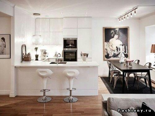 82 besten Offene Küche Bilder auf Pinterest Offene küche - offene küche wohnzimmer trennen