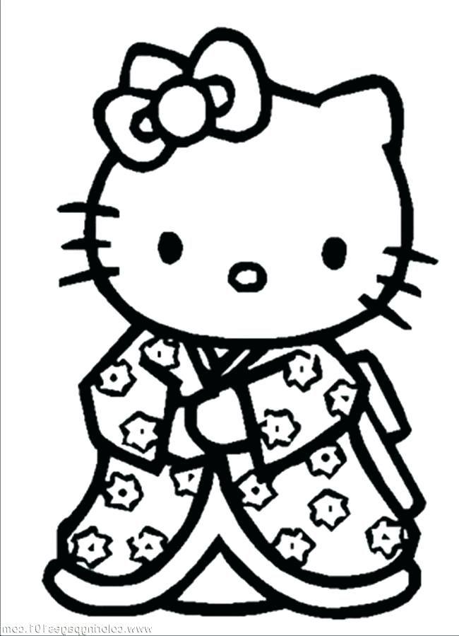 Hello Kitty Princess Para Colorear Hello Kitty Princess Coloring