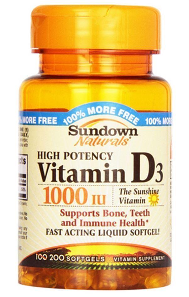 Vitamin D3 1000 IU High Potency http://www.ebay.com/itm/Sundown-Naturals-High-Potency-D3-Vitamin-D-1000-IU-Softgels-100-ea/331716672798?_trksid=p2047675.c100005.m1851&_trkparms=aid%3D222007%26algo%3DSIC.MBE%26ao%3D2%26asc%3D38530%26meid%3D3c340c029631499099bc9cd8322df155%26pid%3D100005%26rk%3D4%26rkt%3D6%26sd%3D272427659212&rmvSB=true
