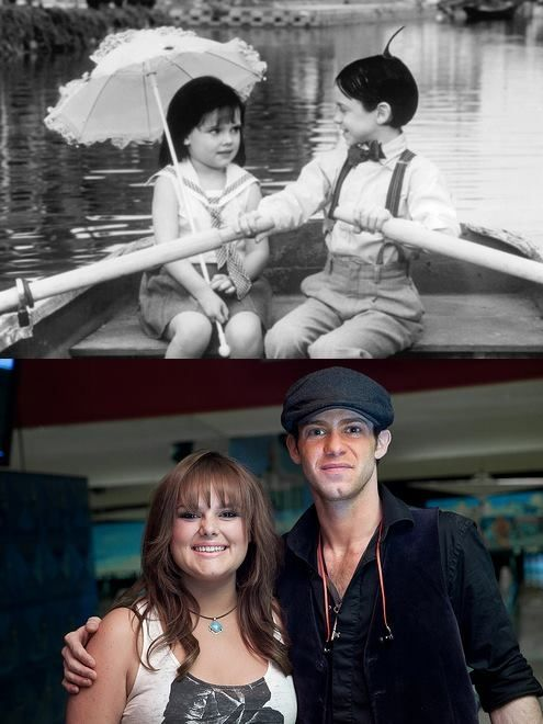 Darla and Alfalfa!