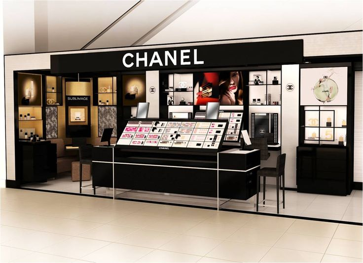 Chanel Saks Concept Store Cosmetics Retail Space