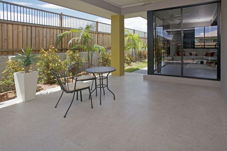 Outdoor Tiles - STRATOS WET CEMENT EXTERNAL (300x600)  MAXFL138  Info: External Tiles  Grout: Mocha