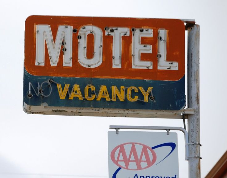 Old vintage neon sign in Shelby, Montana