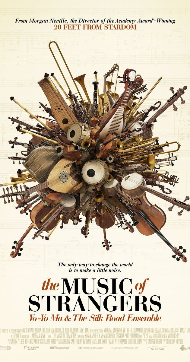 Directed by Morgan Neville.  With Yo-Yo Ma, Kinan Azmeh, Kayhan Kalhor, Cristina Pato. Cellist Yo-Yo Ma and other international artists of The Silk Road Project discuss their philosophies on music and culture.