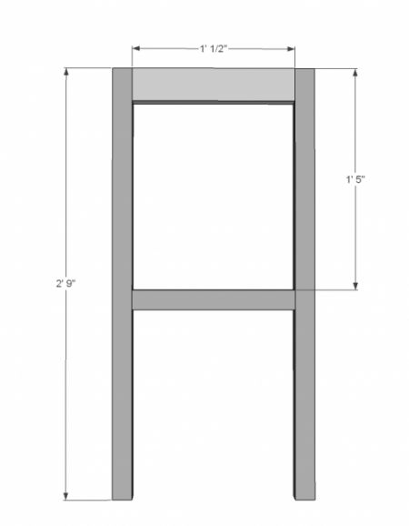 Extra Tall Bar Stool Plans WoodWorking Projects amp Plans : d309bcb4669e84eed0f375746b7ccaa7 from tumbledrose.com size 450 x 578 jpeg 8kB