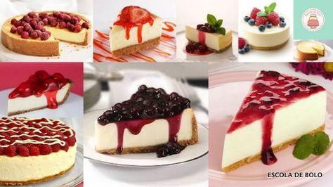 Cheesecake   Escola de Bolo