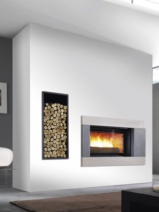 21 best Cheminées Polyflam  2 in 1 fireplace stove images on