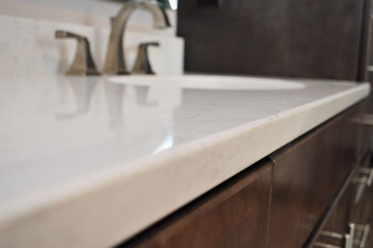 Silestone Quartz Countertop Double Radius Edge Detail