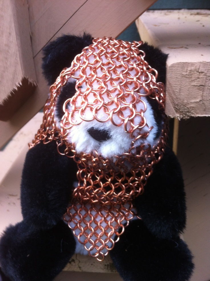 Panda in chain mail.  That is all.