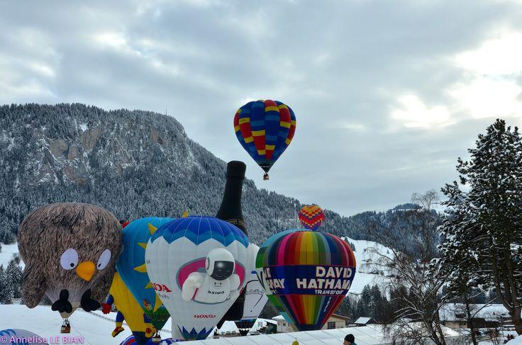 https://flic.kr/p/qULRHx | Festival International de ballons à Château d'Oex (CH)