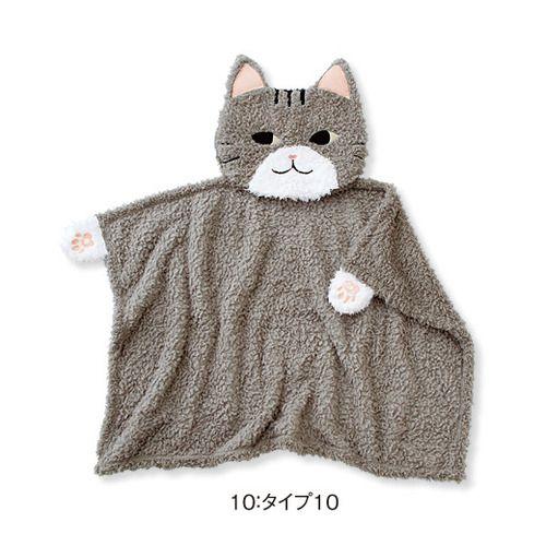 【pick up shop】ふわふわ猫たちが大集合 クッションに変身する吸水ケット   フェリシモ