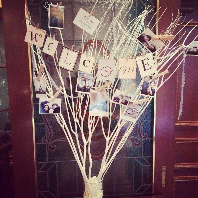 #結婚式 #ウェルカムツリー #ウェルカムボード #ハンドメイド #手作り