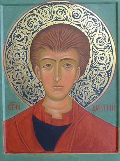 St Demetrius by Marianna Savaryn  ~  x