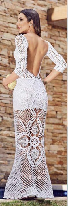 Crochet dress.....