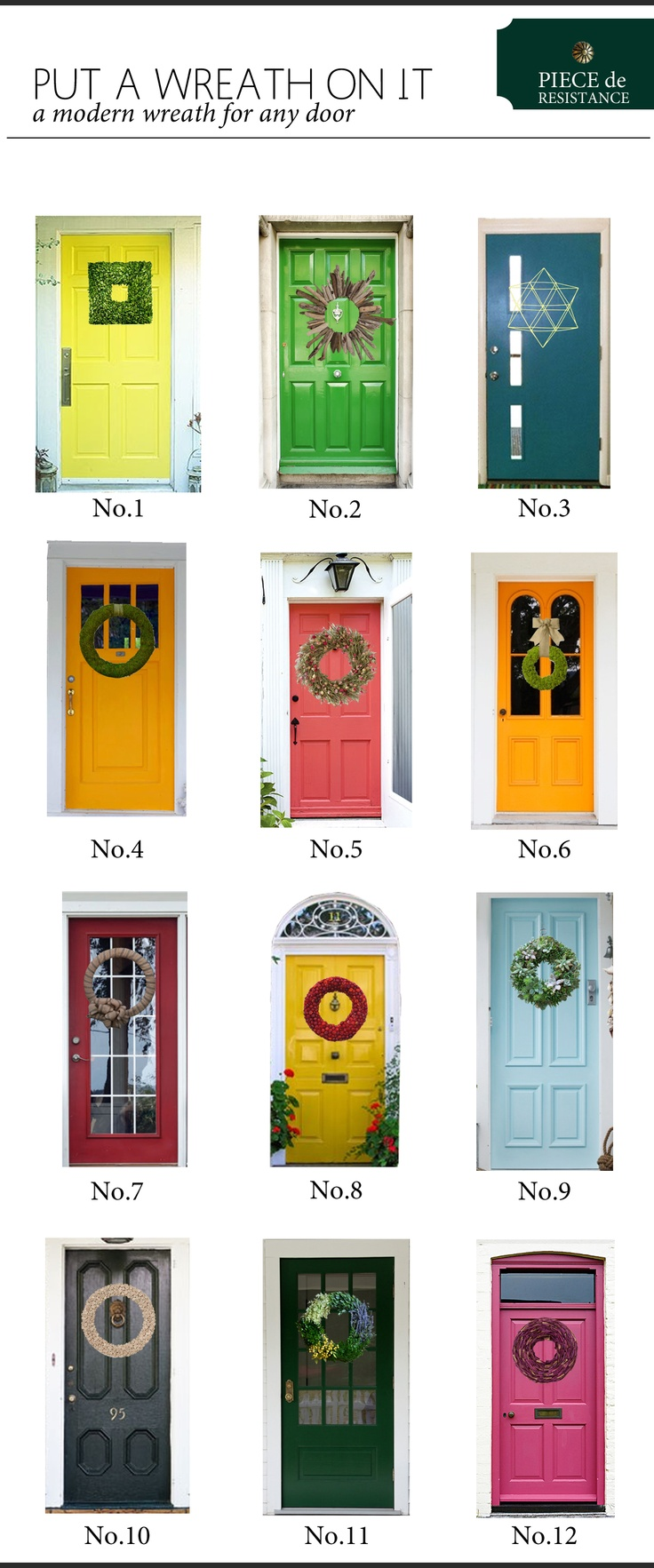 Put A Wreath On It Simple Natural Ideas For Your