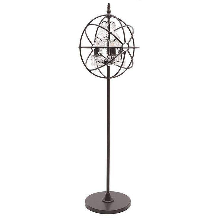 METAL FLOOR LAMP RUSTY W/5 LIGHTS - Floor - LIGHTINGS