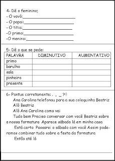 Atividades Infantil - Espaço Saber: PROVAS TESTES AVALIAÇÕES 3° ANO ATIVIDADES PARA IMPRIMIR VIII Provas - Testes - Avaliações - 3° ano fundamental Português - Natal - Interpretação de texto fl. 1/5 Português - Natal - Interpretação de texto fl. 2/5 Português - Natal - Interpretação de texto fl. 3/5 Português - Natal - Interpretação de texto fl. 4/5 Português - Natal - Interpretação de texto fl. 5/5 Matemática fl. 1/4 Matemática fl. 2/4