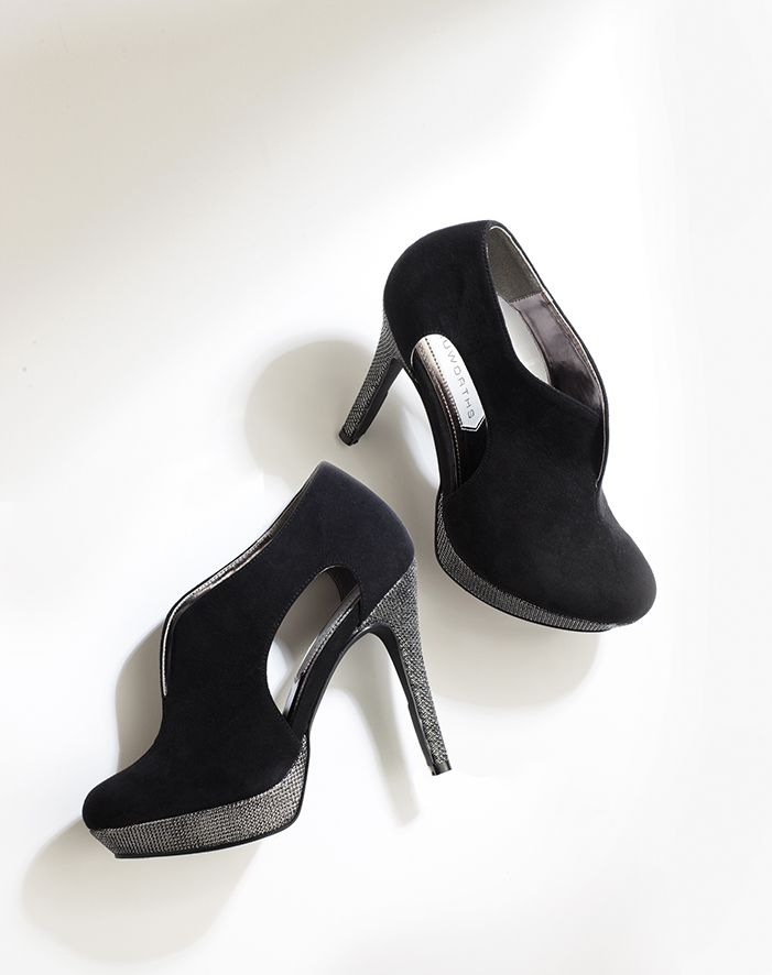 Cut-out heels in perfect black. Shop online at www.truworths.co.za