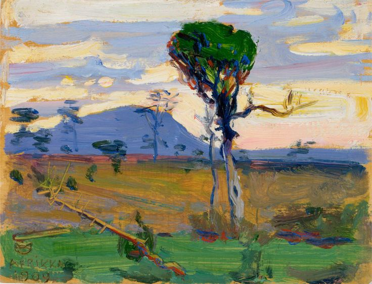 AKSELI GALLEN-KALLELA Mt. Donia Sabuk (1909)