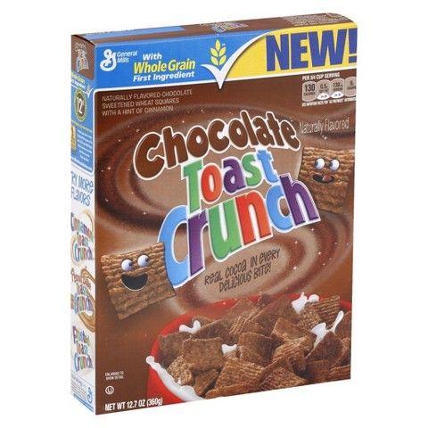 general mills chocolate toast crunch cereal 12 7 oz food rh pinterest com