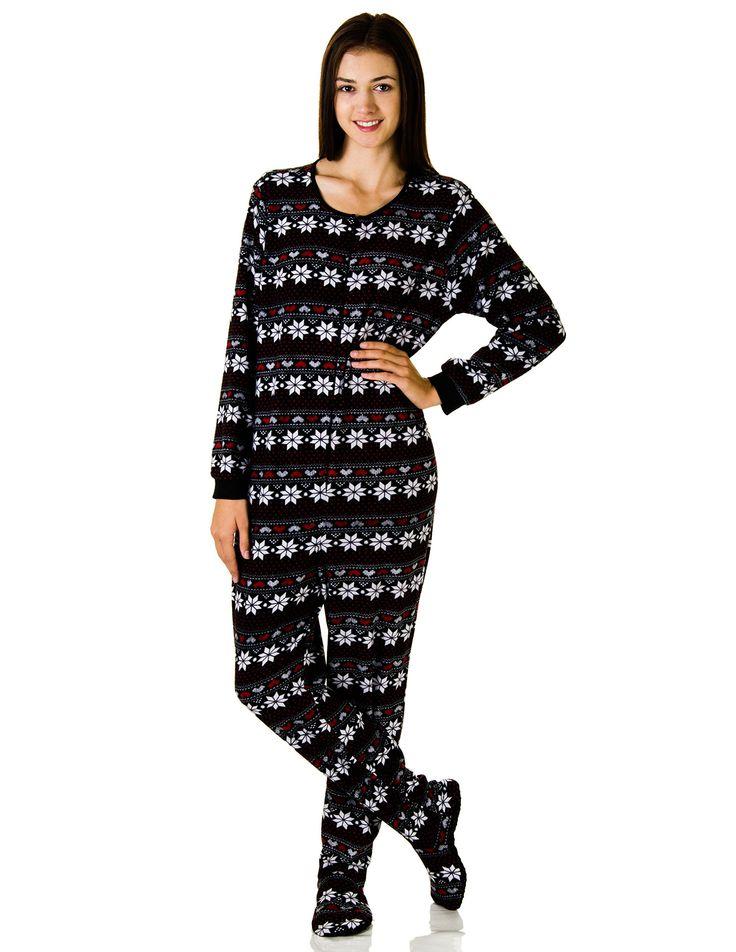 Amazon.com: Rene Rofe Juniors Plush Onesie Footie Pajamas ...