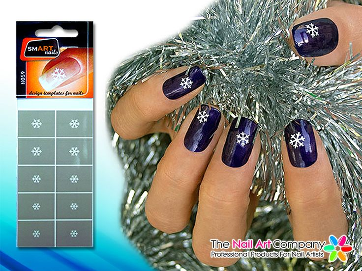 67 best smart nails nail art stencils images on pinterest nail smart nails snow flake nail art stencil set n059 prinsesfo Images