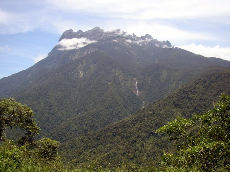 Mount Kinabalu in Borneo. We've conquered it!