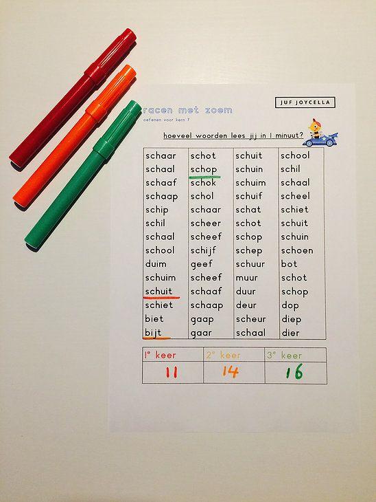 In kern 6 leren de kinderen de laatste letters, dit is een enorme mijlpaal.Daarna gaan we verder met kern7, waar de kinderen zeker nog een heleboel