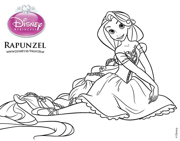 59 best Dibujos de Princesas Disney images on Pinterest | Disney ...