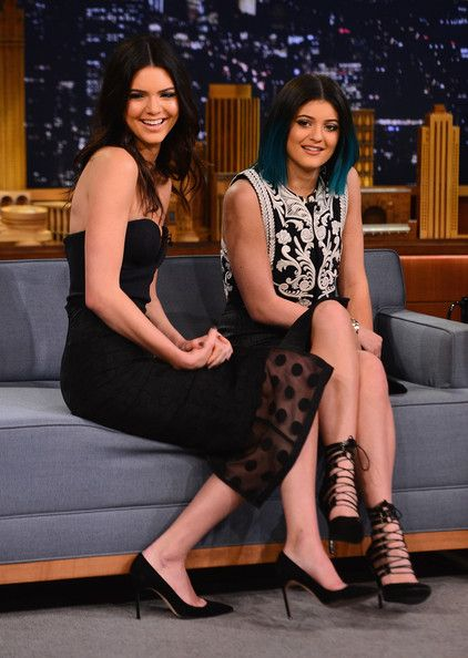 "Kendall Jenner Photos: Kendall Jenner & Kylie Jenner Visit ""The Tonight Show Starring Jimmy Fallon"""