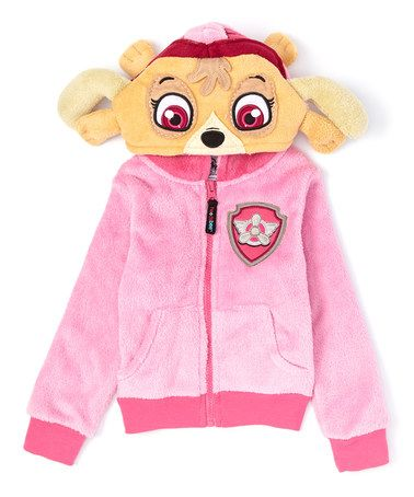 Doll Pink PAW Patrol Hoodie & Plush Toy - Toddler & Girls #zulily #zulilyfinds