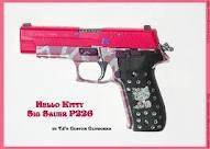 I do want a hello kitty hand gun...