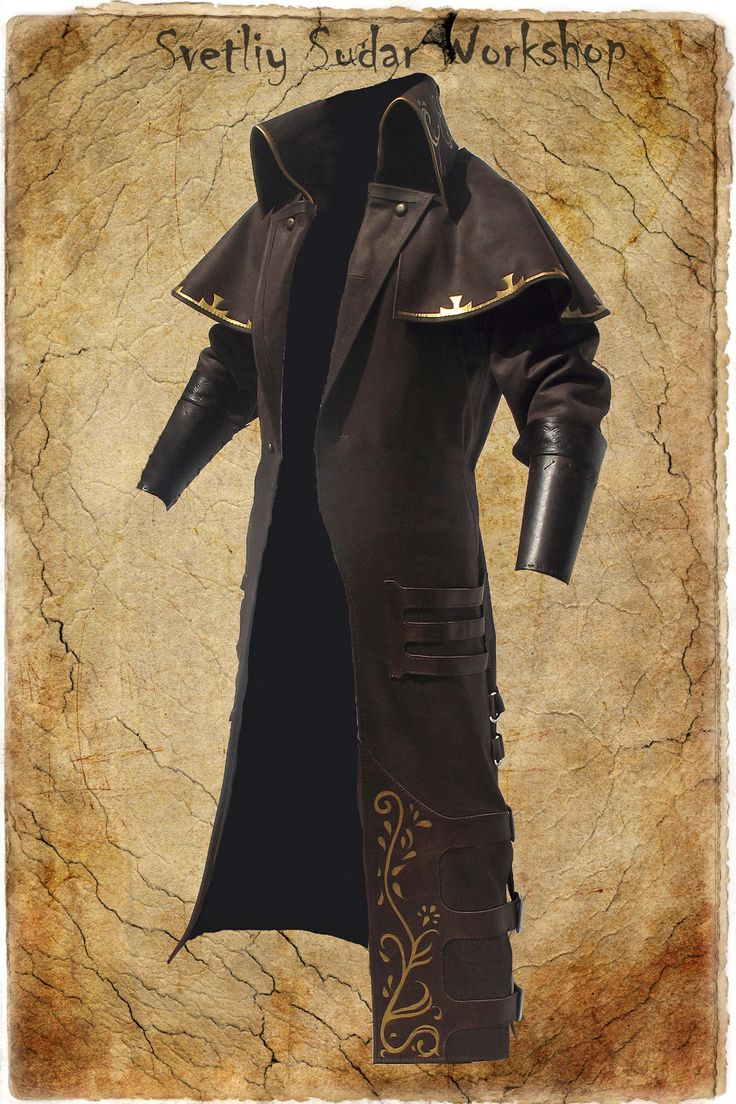 Witch Hunter's longcoat by Svetliy-Sudar.deviantart.com on @deviantART
