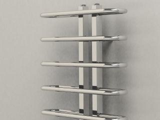 Towelrads Esher Chrome Designer Towel Rail 1200mm x 500mm