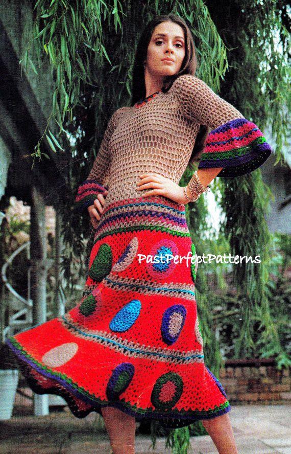 INSTANT DOWNLOAD PDF Vintage Crochet by PastPerfectPatterns