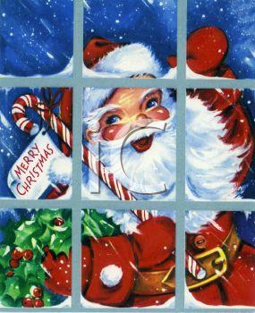 A Vintage Santa Claus Clipart Image. ooooh Santa!