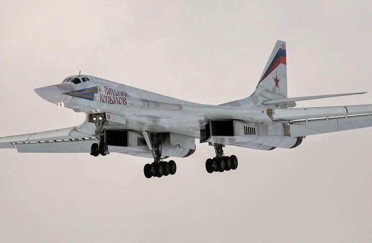 le portail des passionnés de l'aviation: Livraison de six Tupolev Tu160 Blackjack à l'aviation russe en 2015