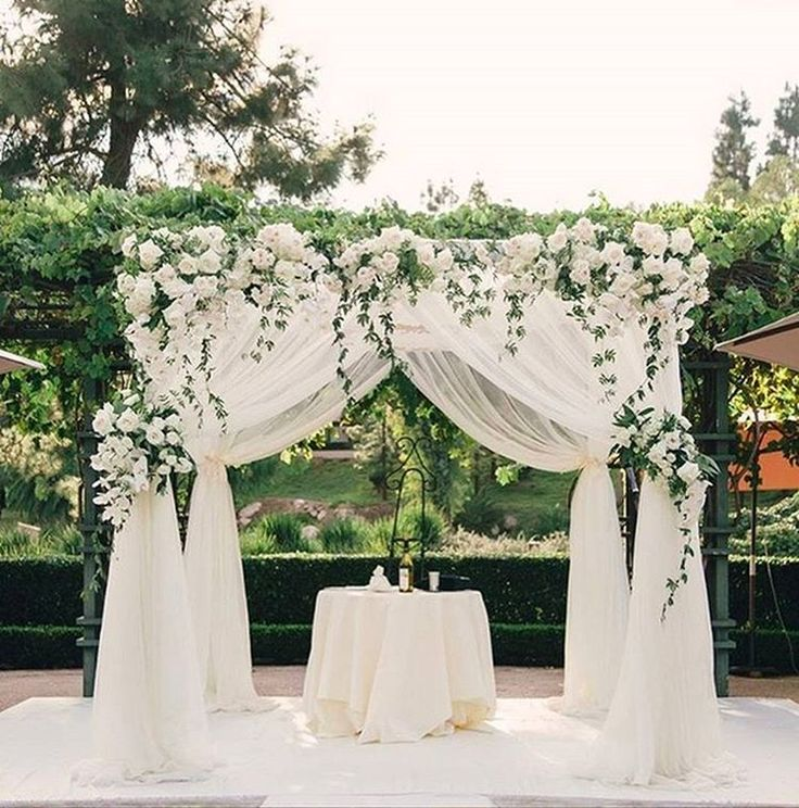 Altarpiece Wedding: 70 Best Flowers: Arches And Chuppa's Images On Pinterest