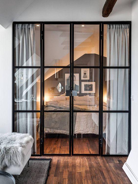 Puertas y paredes de cristal : funcionales y preci…